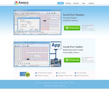 awavo com at WI  Awavo Software - com port monitor, serial port