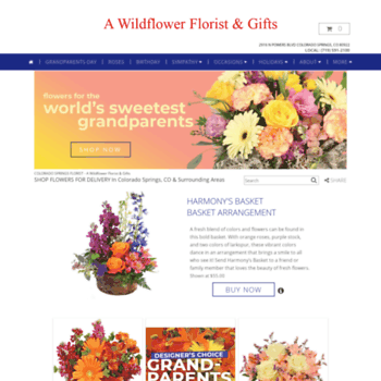 Awildflowerflorist At Wi Colorado Springs Florist Colorado