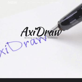 axidraw com at WI  AxiDraw Writing and Drawing Machines