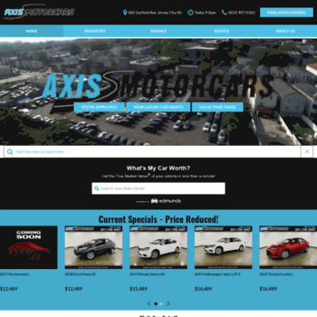 Axis Auto Group >> Axisautogroup Net At Wi Axis Auto Group Jersey City Nj