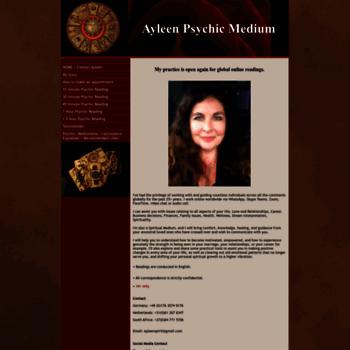 ayleenspirit com at WI  AYLEEN SPIRIT PROFESSIONAL PSYCHIC