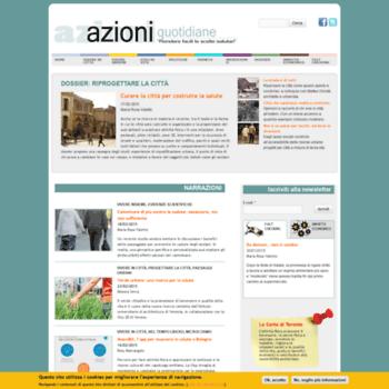 Azioniquotidiane.info thumbnail