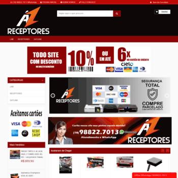 Azreceptores.com.br thumbnail