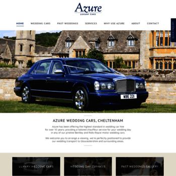 Azureweddingcars.co.uk thumbnail