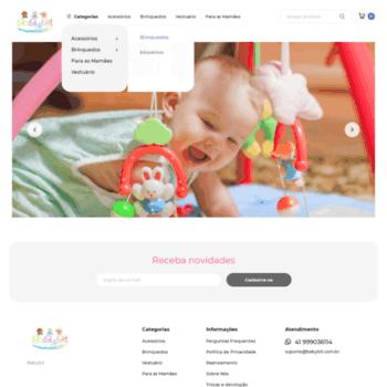 13fb32845b2f9 babybit.com.br at WI. Baby bit - O Shopping do bebê