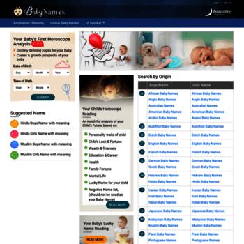 babynames indastro com at WI  Baby Names, Indian Baby Name
