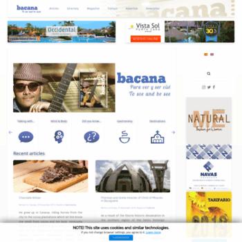 Bacanamagazine.com thumbnail