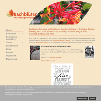Bachbluetenwissen.info thumbnail