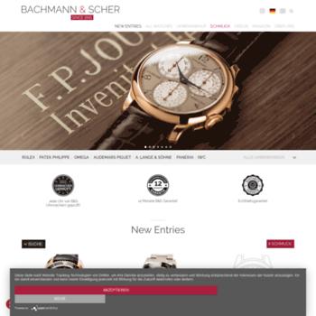 Bachmann-scher.de thumbnail
