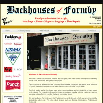 Backhousesofformby.co.uk thumbnail