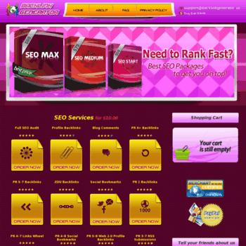 Backlinkgenerator.us thumbnail
