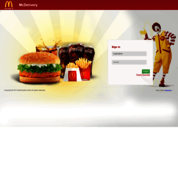 Backoffice.mcdelivery.co.in thumbnail
