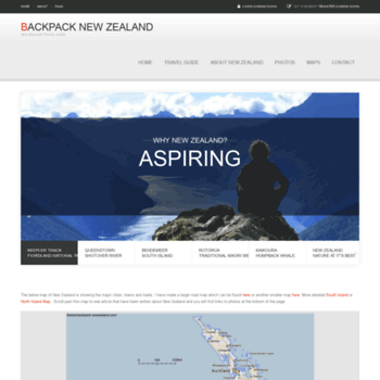 Backpack-newzealand.com thumbnail
