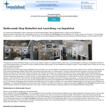 Badkeramik De.Badkeramik Shop De At Wi Badkeramik Shop Badmobel Bad Ausstellung
