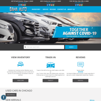 Used Car Dealerships In Chicago >> Bahaauto Com At Wi Baha Auto Used Cars Burbank Il Car