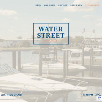 Bakerswaterstreet Com At Wi Baker S Water Street Bar And Grille