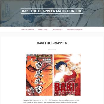 Baki-the-grappler.com thumbnail
