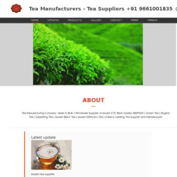 balajitea nowfloats com at WI  Tea Manufacturers - Tea