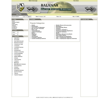 balanaa com at WI  Yellow pages of Pakistan, free listing, business