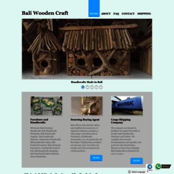 Baliwoodencraft.com thumbnail