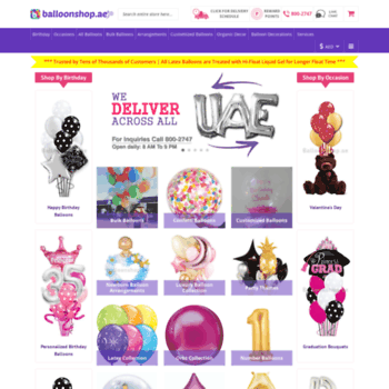 Balloonshopae At WI Online Same Day Balloon Delivery In Dubai Abu