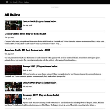 Ballots.latimes.com thumbnail