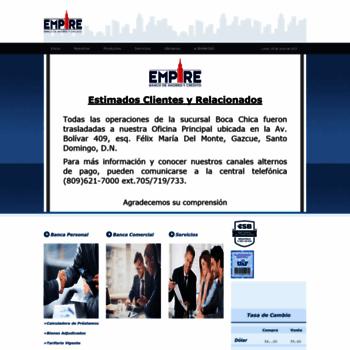 Bancoempire.com.do thumbnail