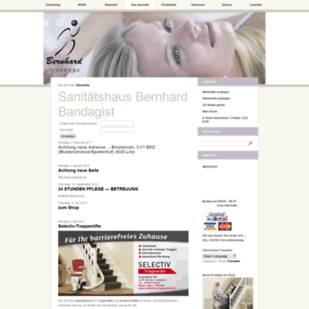 Bandagist-bernhard.at thumbnail