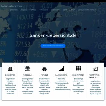 Banken-uebersicht.de thumbnail