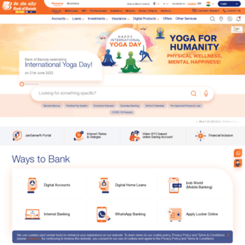 Bankofbaroda.co.in thumbnail
