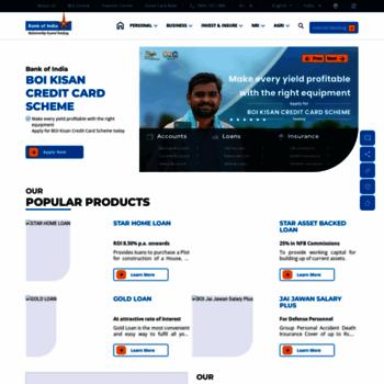 Bankofindia.co.in thumbnail