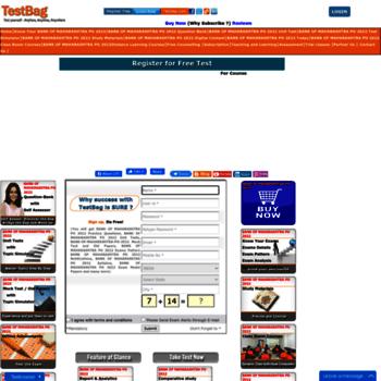 Bankofmaharashtrapo.testbag.com thumbnail