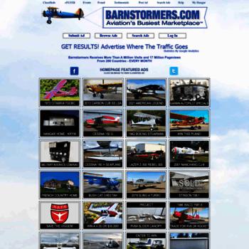 barnstormers com at WI  BARNSTORMERS COM Find Aircraft & Aircraft