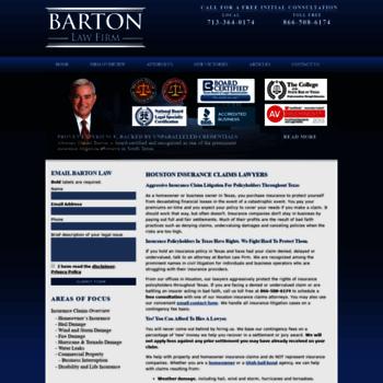 Bartonlawfirm.net thumbnail
