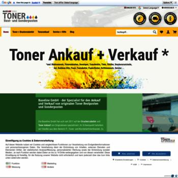 Baseline-toner.de thumbnail
