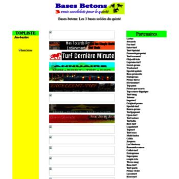 bases-betons blogtqq com at WI  Les 3 Bases solides du quinté