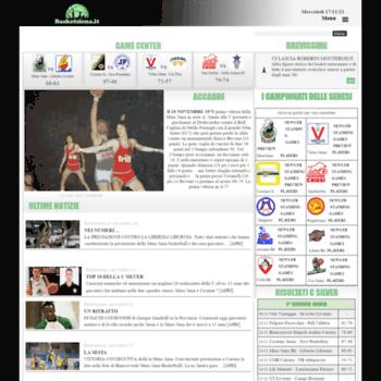 Basketsiena.it thumbnail