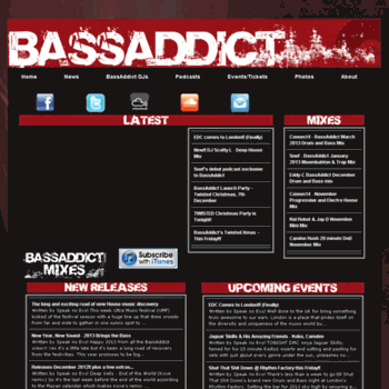 Bassaddict.co.uk thumbnail