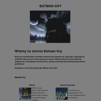 Batmangry.pl thumbnail