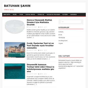 Batuhansahin.com.tr thumbnail