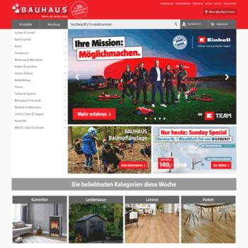 Bauhaus Nauticinfo At Wi Bauhaus Online In Ihrer Nähe Mehr Als