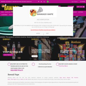 bawadiv com at WI  Bawadi Vape Ejuice Dubai UAE Eliquid Myle
