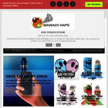 bawadivape net at WI  Bawadi Vape Ejuice Eliquid Smok Mods Coils