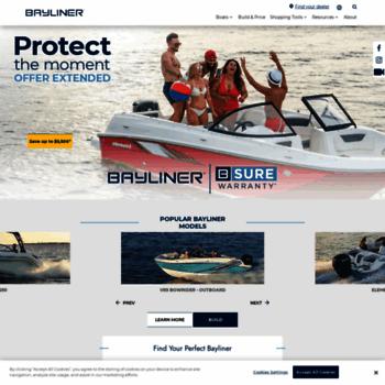 bayliner com at WI  Home - Bayliner Boats
