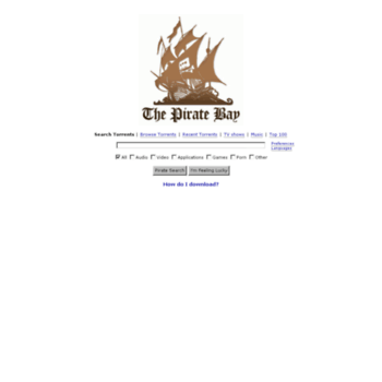 Baypirateproxy.org thumbnail