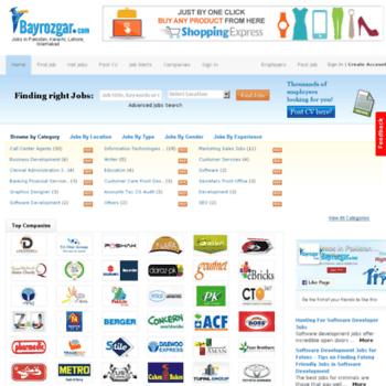 Bayrozgar.com thumbnail
