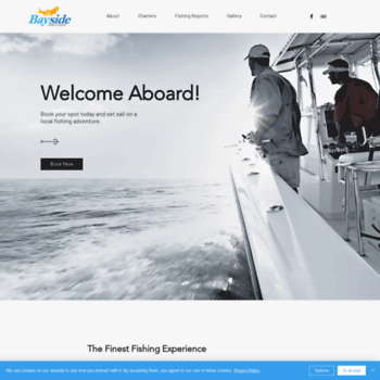Baysidefishingcharters.com thumbnail