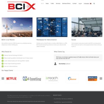 Bcix.de thumbnail
