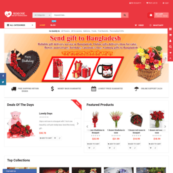 Bdrose At WI Send Gifts To Bangladesh Gift Delivery In
