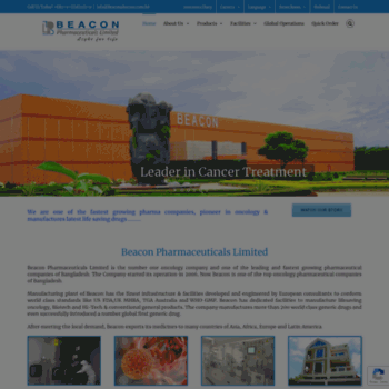Beaconpharma.com.bd thumbnail